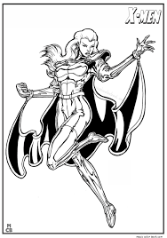 x men coloring pages free printable 12