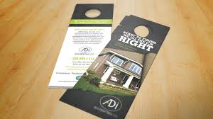 door hanger design real estate. Door Hanger. Painting Company. Sales Flyer Hanger Design Real Estate