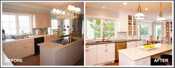 the importance of lighting when ing coldwell banker blue matter kitchen remodel by pj company staging