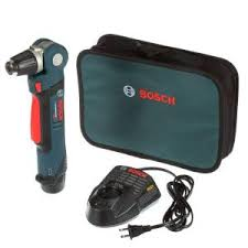 bosch right angle drill. bosch 12-volt lithium-ion cordless 3/8 in. variable speed right angle drill/driver kit with 2.0ah battery and charger-ps11-102 - the home depot drill 1
