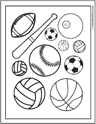 Small Picture 121 Sports Coloring Sheets Customize And Print Pdf within Sports