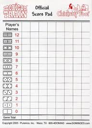 Canasta Score Sheet Template Delectable Printable Domino Score Sheets Dominoes Score Sheet Books Worth