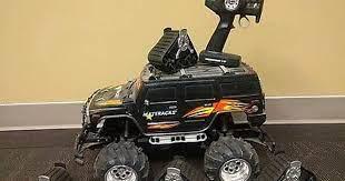 Radioshack H2 Hummer Rc Car Truck With Mattracks Untested Rc Cars Hummer Cars Trucks