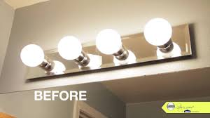 bathroom lighting you installing wall mounted how to replace a bathroom light fixture design