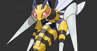 Pokemon Beedrill Evolution Chart Pokemon Lets Go Mega Beedrill Stats Moves Evolution