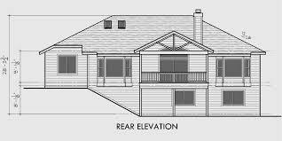 house with basement garage. wonderful one story house plans with basement daylight side garage