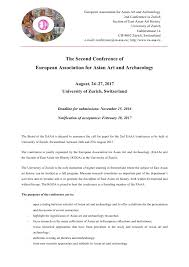 call for papers ldquo the second conference of european association eaaa conference