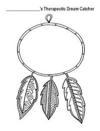 Dream Catcher Worksheet Therapeutic Dream Catcher art therapy Pinterest Dream 2