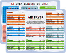 Must Have Air Fryer Accessories Green Cooking Times Magnet 8