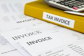 Bills, Tax Invoice And Purchase Orders Stock Photo - Image Of ...
