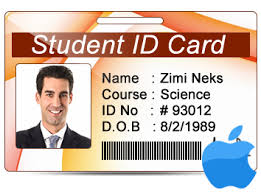 Id Student Design Maker On Cards Multiple For Mac