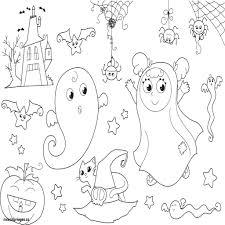 Coloriage Halloween Imprimer Gratuit