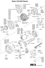 csd alternator wiring solidfonts cs130d alternator wiring solidfonts