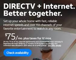exisiting customers bundle at t tv with internet