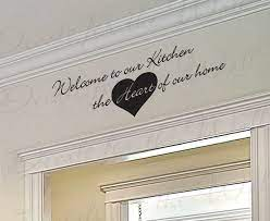 kitchen vinyl wall lettering quotes