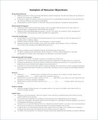 Admin Objective For Resume Resume Objective Statement Examples