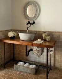 Unique diy bathroom ideas using wood Bathroom Mirror Nice 48 Unique Diy Bathroom Ideas Using Wood Ideas Baños Industrial Bathroom Vanity Bathroom Modern Bathroom Ideas Rustic Bathrooms Pinterest Pin By Mandyannart On Houses And Things Industrial Bathroom