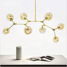bubble chandelier modern pendant glass ball branching bubble pendant chandeliers for dining