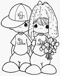 Small Picture Precious Moments Coloring Pages Wedding Free colouring