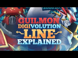 Digimon Evolution Chart Guilmon Videos Matching Digimon Tamers Takato Introduces Guilmon To