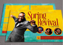 revival flyers templates spring revival church flyer template by loswl on deviantart