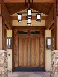 craftsman double front doors. entryway the home entry craftsman with south peninsula builder mahogany front doors double c