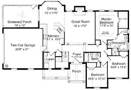bungalow floor plans. Bungalow Ranch House Plan 97760 Level One Floor Plans