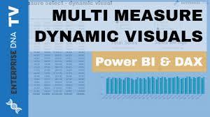 Power Bi Waterfall Chart Multiple Measures Multi Measure Dynamic Visuals Data Viz Technique In Power Bi