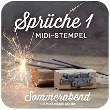 Midi Stempel Sprüche 1 600