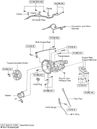 repair guides automatic transmission transmission removal exploded view of automatic transmission components for removal is300 2 of 2