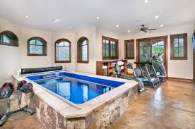 indoor gym pool. 3-Fabulous-indoor-lap-pool-is-a-great-addition-to-the-home-gym Indoor Gym Pool S