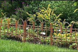 low garden fencing attractive flower bed fence ideas decorative home depot categories gard garden fencing