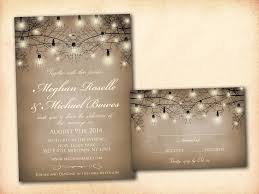 Wedding Invitation Flyer Template Elegant Stunning Rustic Wedding ...