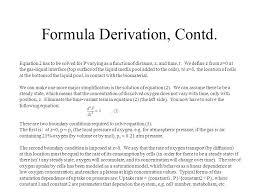 3 formula derivation