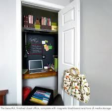 diy closet office. Building A Closet Office Diy Into Desk .