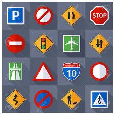 Basic Road Traffic Warning Regulatory Prohibiting And Informative
