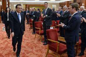 facebook office in usa. Facebook CEO Mark Zuckerberg And Chinese Premier Li Keqiang At A Gathering Of Top Business Executives In China 2016. Kenzaburo Fukuhara - Pool/Getty Office Usa R