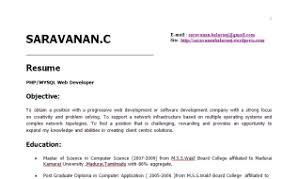 two years experience resume sample  varavanan-resume