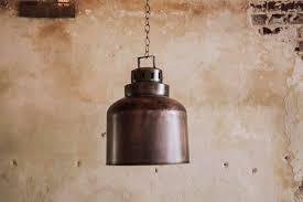 metal pendant light fixture industrial