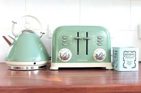 Retro Toasters delonghi green kettle kettle and toaster set breville pick mix 2 3382 by uwakikaiketsu.us