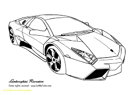 Cool Car Printables With Super Car Ferrari Enzo Coloring Page Cool