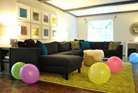 living room for birthday party young