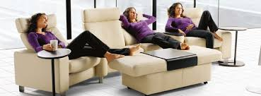 Stressless Reclining Sofa Recliner Sofas Stressless Leather