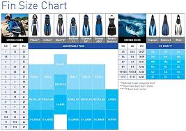 Aqualung Slingshot Size Chart Aqua Lung Shot Fx Spring Strap Diving Fin