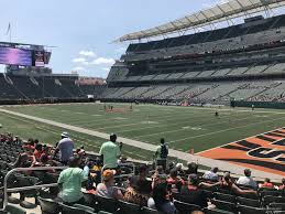 Paul Brown Stadium Section 132 Rateyourseats Com