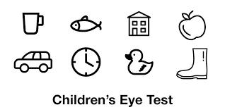Child Eye Test Chart