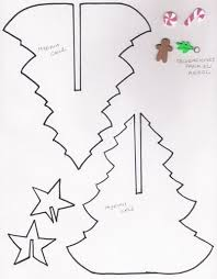 Template To Make Paper Trees Sroll Saw Patterns 3d