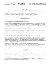 Resume Jason Scott Rosen Dot Net Duh