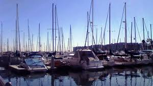 Marina Del Rey Waterfront Seafood Restaurant Dining With A