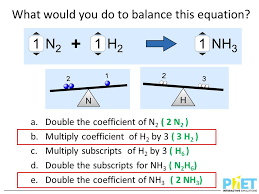 what would you do to balance this equation